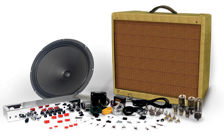 Tweed 5E5 115 Amp Kit